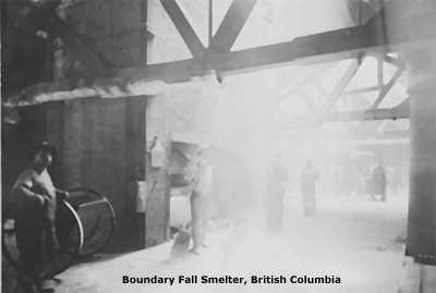 Boundary Falls Smelter, Britsh Columbia